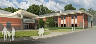 Florence Bowser Entrance Rendering